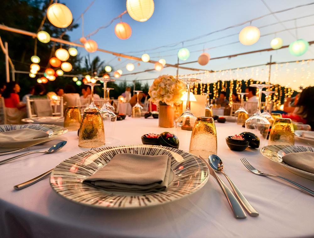 Full Service Veranstaltungsplanung für beispielsweise Hochzeiten - Eventschmiede GmbH