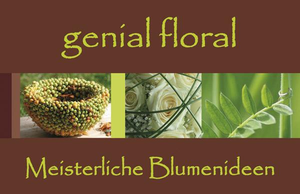 Genial Floral Logo
