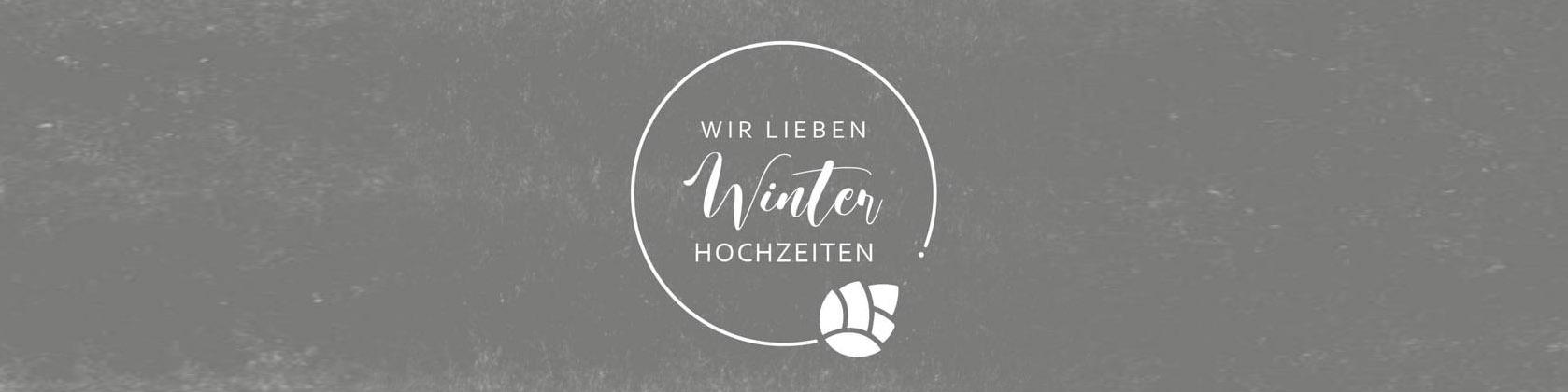 #wirliebenwinterhochzeiten Logo